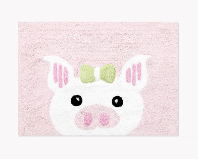 Peggy pig bathmat thumb