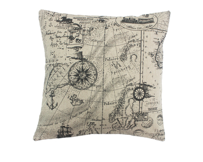 Voyage printed cushion cover thumb