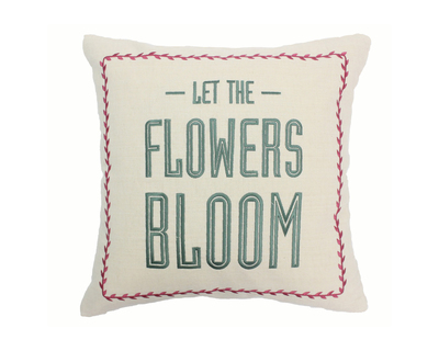 Let the flowers bloom cushion cover thumb
