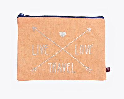 Type pouch utility live travel love thumb