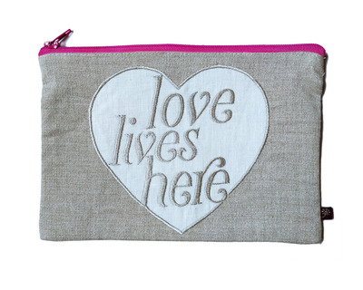 Type pouch utility love lives here thumb