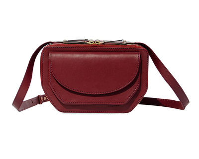 Twin zip crossbody thumb