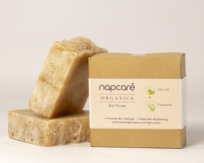 Organic chamomile soap thumb
