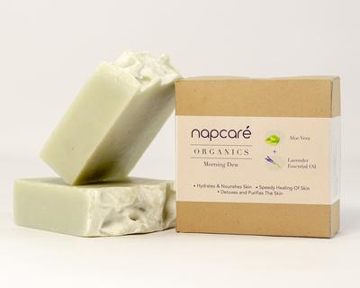 Organic aloe lavender soap thumb