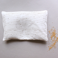 Chubby mustard pillow small