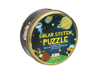 Solar system puzzle 30 pcs 2in1 colouring puzzle thumb