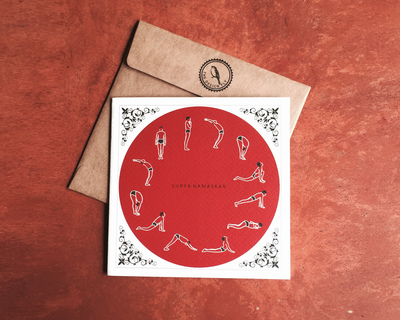 Greeting card suryanamaskar thumb